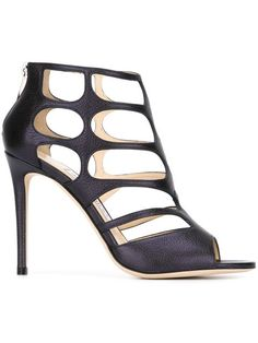 JIMMY CHOO 'Ren 100' Sandals. #jimmychoo #shoes #sandals