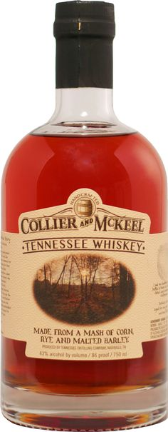 Following the rebellion, William Collier and James McKeel - afraid that federal troops would march on them - moved to Tennessee, bringing with them the tradition of handcrafting sour mash whiskey that the pair learned from their Scottish and Irish ancestors.