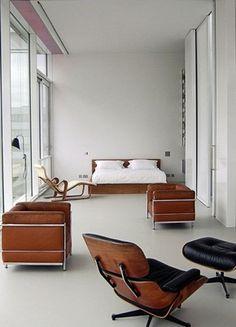 minimalistisk sovrum