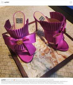 Shoes By Fausto Puglisi - schuhe interessant - Fab Shoes, Dream Shoes, Pretty Shoes, Beautiful Shoes, Cute Shoes, Women's Shoes Sandals, Me Too Shoes, Shoe Boots, Pink Shoes