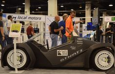 """TheInstitute for Advanced Composites Manufacturing Innovation (IACMI) in Knoxville, Tennessee, has announceda Big Area Additive Manufacturing (BAAM) project with Oak Ridge National Laboratory, and 3D printed car company Local Motors.The project is to develop composite materials that can be used to 3D print components for vehicles. The aim is to""""challenge existing designs"""