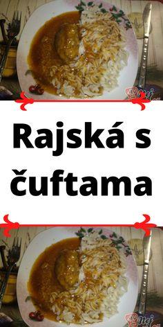 Rajská s čuftama Grains, Curry, Rice, Ethnic Recipes, Curries, Seeds, Laughter, Jim Rice, Korn