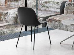 Buy the Muuto Fiber Side Chair Tube Base at Nest.co.uk
