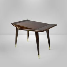 Ico Parisi Style Italian Side Table | From a unique collection of antique and modern side tables at https://www.1stdibs.com/furniture/tables/side-tables/