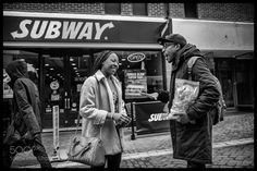 Outside Subway by calbo