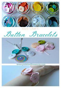 easy button bracelet craft