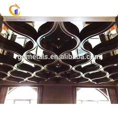 modern indoor stainless steel ceiling metal ceiling - Cheapest Ceiling Material