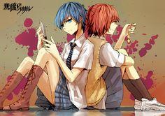 akuma no riddle Part 3 - - Anime Image Yuri, Riddle Story Of Devil, Akuma No Riddle, Ova, Best Couple, Riddles, Manga Art, Wallpaper, Artist