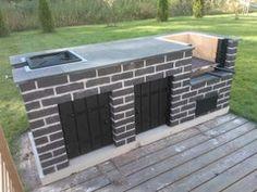 Outdoor Patio Designs, Outdoor Spaces, Outdoor Decor, Pizza Oven Outdoor, Outdoor Cooking, Garden Fountains For Sale, Pergola Patio, Backyard, Brick Bbq