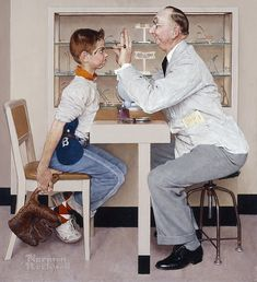 Norman Rockwell on Flipboard