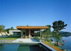 Casa Gundersen, Noruega. Widjedal Racki Bergerhoff