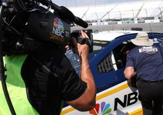 Behind the scenes: Photos from NBC Booth Friday, June 30, 2017 Jeff Burton takes some laps and explains the track configuration to fans. Photo Credit: Courtesy of NBC Photo: 10 / 20