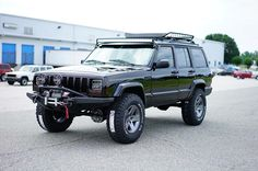 Lifted Jeep Cherokee Built by Davis AutoSports