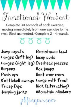 Functional Workout by pbfingers.com