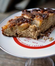 Apple Cardamom Upside-Down Cake