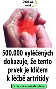 500.000 vyléčených dokazuje, že tento prvek je klíčem k léčbě artritidy Reflexology, Acupressure, Health, Diet, Health Care, Healthy, Salud