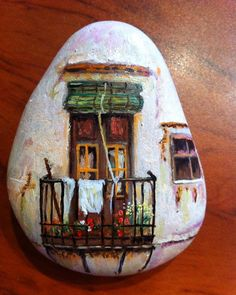 – Art – Art is my life. Pebble Painting, Pebble Art, Stone Painting, Stone Crafts, Rock Crafts, Rock Painting Designs, Paint Designs, Inspiration Artistique, Rock And Pebbles