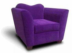 Sillón morado / Purple armchair