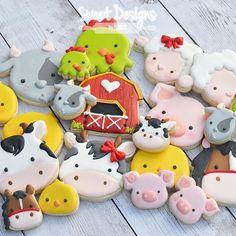 Farm cookies @sweetdesignsbyjudit