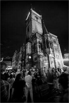 Prague  Black and White Street Photography