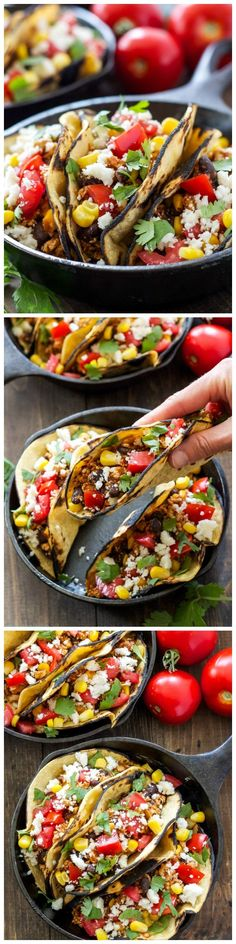 These homemade smokey, slightly spicy sofritas taste just as good as the ones from Chipotle if not better! They are the perfect meatless taco filling!