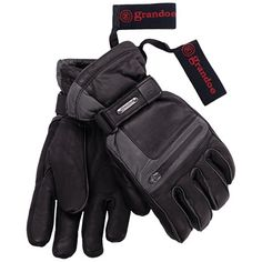 Grandoe Myth ThermaDry Gloves - Waterproof, Insulated (For Men)