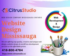 Mississauga Website Design and Web Development Services Web Development Website, Web Design Company, Digital Marketing, Wordpress, Creative, Website Design Company