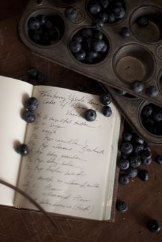 a recipe for blueberries