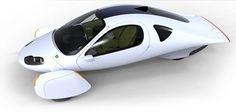 Hedendaagse futuristische auto