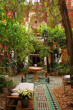❤❤ Moroccan garden