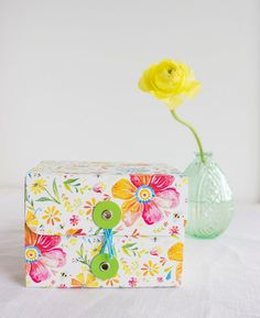Posies Gift & Trinket Box by thewheatfield on Etsy