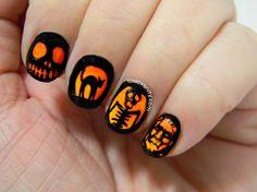 Halloween | Toxic Vanity #nail #nails #nailart