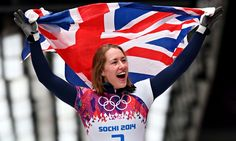 Lizzy Yarnold wins Sochi Winter Olympics gold for Britain in skeleton Women Skeleton, Olympic Gold Medals, Olympic Committee, Team Gb, Olympic Athletes, Winter Games, Winter Olympics, Female Athletes