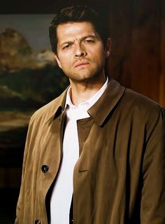 Cas and his typical confused face