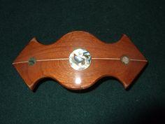 Wood Wooden Barrette Hairclip Cherry medium by Thingsinwood18, $39.00