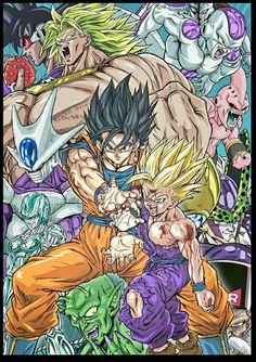Masaki sato Dragon Ball Z, Dragon Ball Image, San Gohan, Akira, Z Tattoo, Manga Dragon, Z Wallpaper, Ball Drawing, Z Arts