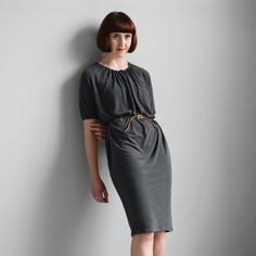 The Drawstring-neck Dress and Top - pattern by The Maker's Atelier