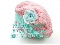 Freebook Friday Mütze %22Klarberry%22 inkl. Schnittmuster