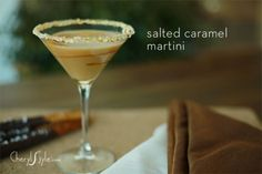 salted caramel martini cherylstyle