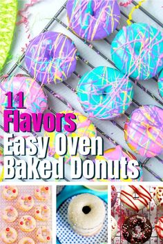 If you're looking for some easy oven baked donuts, you've come to the right place. We've rounded up some of the best baked donut recipes that we could find. From classic doughnut flavors like chocolate and cinnamon sugar to fun flavors like red velvet or maple blueberry, you're sure to find something you and your family will love. Cookie Dough Recipes, Brownie Recipes, Candy Recipes, Fruit Recipes, Cheesecake Recipes, Dessert Recipes, Homemade Peanut Butter Cups, Peanut Butter Candy, Peanut Butter Desserts