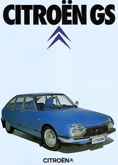 La Citroën GS / GSA est une voiture fabriquée par Citroën à 2,5 millions d'exemplaires, de 1970 à 1986, dans l'usine de Rennes-La Janais (Ille-et-Vilaine). Il s'agit de la voiture la plus vendue par Citroën après la 2 CV et l'AX. Le nom GS provient de son nom d'étude, « projet G », devant être décliné en version moteur 4-cylindres à plat type GX et moteur rotatif type GZ. Elle a remporté le trophée européen de la voiture de l'année en 1971.