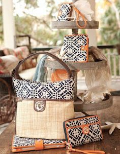 Spartina Bags (see our Spartina Board for lots of Spartina pins)