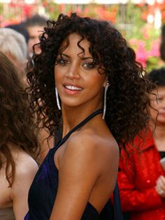 Noemie Lenoir - a French model and actress of mixed heritage.