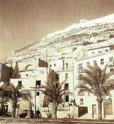 Vista del Raval Roig desde la Playa en 1949 (Sanchez, AMA)