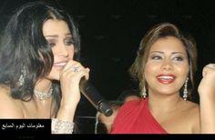 فضائح الفنانتان هيفاء وهبي وشيرين عبد الوهاب