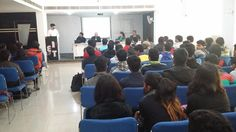 """Guest Lecture organized by GIET for B.Tech and Diploma students. Mr. T.N. Tiwari - Technical Director from Golden Rolls Pvt. Ltd. has shared the insight to become good """"Enterpreneur and Global Challenges"""" on 20th Jan'17 i.e. Friday."""
