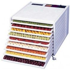 Excalibur Dehydrator White 9 drawers