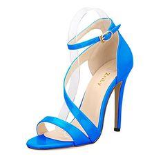 DeBlossom Whitney 16 Womens Open Toe Strappy Slingback Wedge Platform Dress Sandals