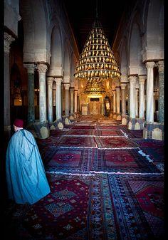 Kairouan old mosque tunisia