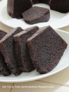 Resep Cake Kukus Ketan Hitam JTT